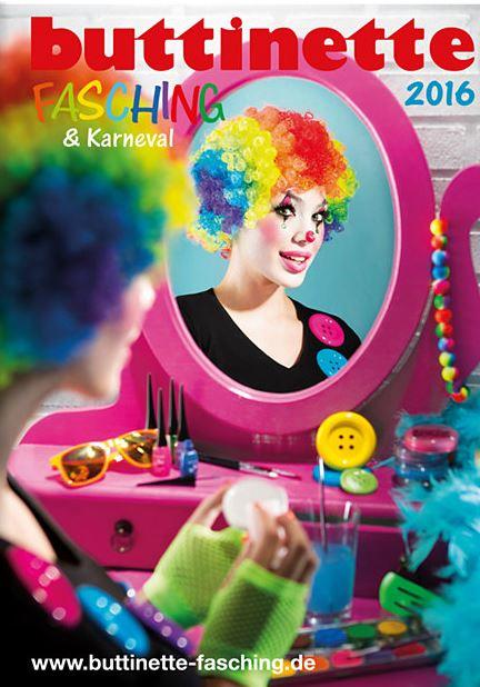Fasching Kataloge kostenlos – Karneval Kataloge bestellen bei buttinette