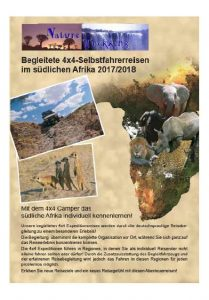 expeditionsreisen kataloge afrika flyer nature trekking 6