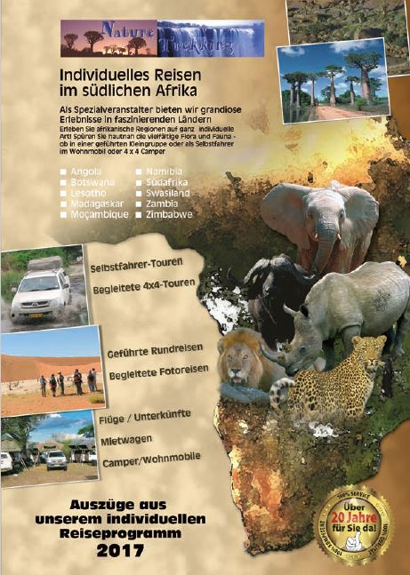 Expeditionsreisen Kataloge Afrika