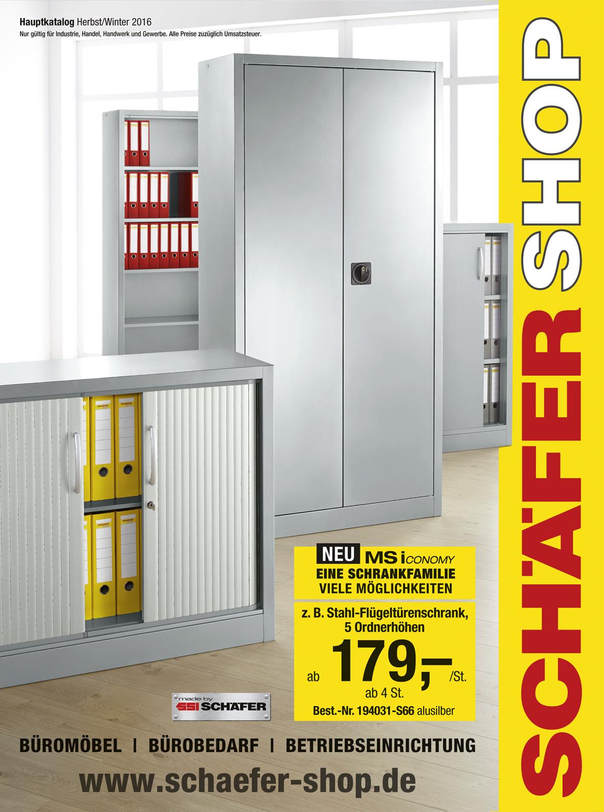 Schäfer-Shop Bürobedarf Kataloge bestellen