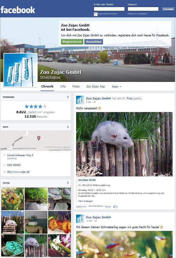 Facebook zoo zajac kostenlose kataloge von a z online for Aquarium katalog kostenlos bestellen