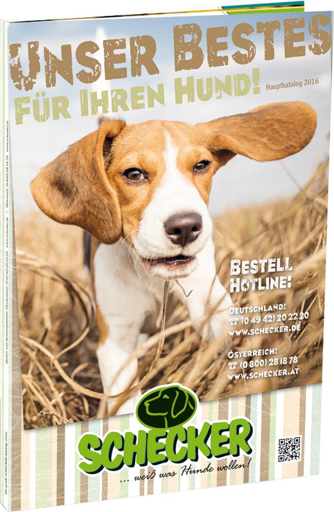 SCHECKER Der Hundebedarf-Katalog und Hundeshop