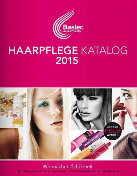 Basler Haarkosmetik Friseurbedarf Kataloge