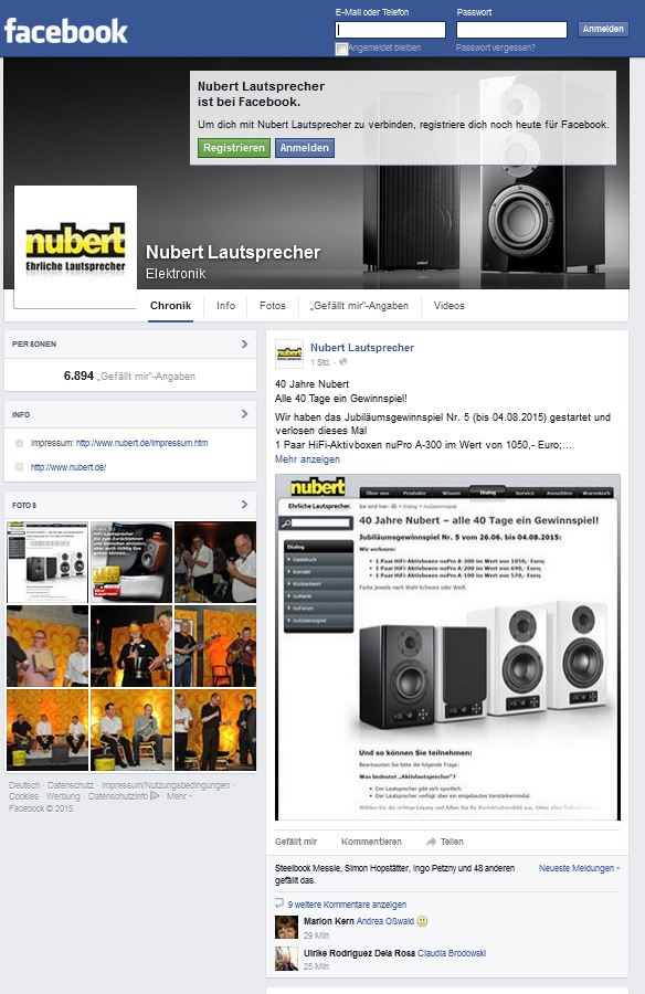 nubert speaker lautsprecher katalog kostenlos bestellen. Black Bedroom Furniture Sets. Home Design Ideas