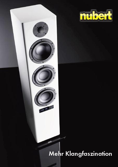 Nubert Speaker Lautsprecher Kataloge kostenlos