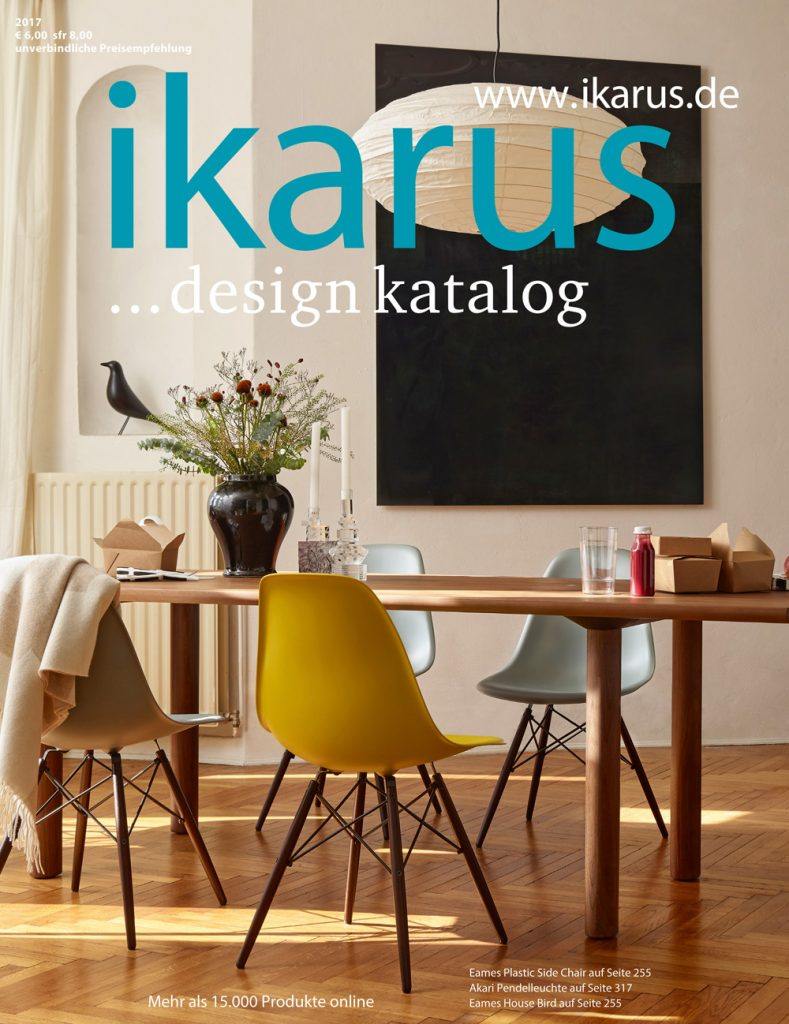 design katalog kostenlos bestellen von ikarus. Black Bedroom Furniture Sets. Home Design Ideas