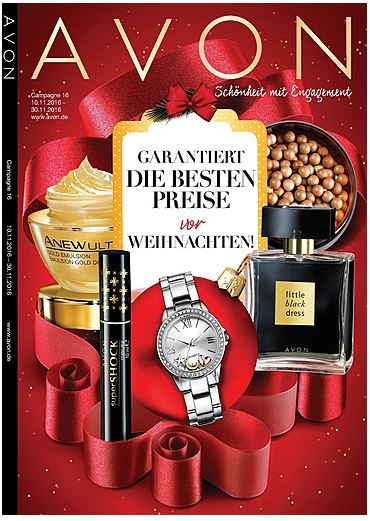 Kosmetik Kataloge Beauty Kataloge von AVON