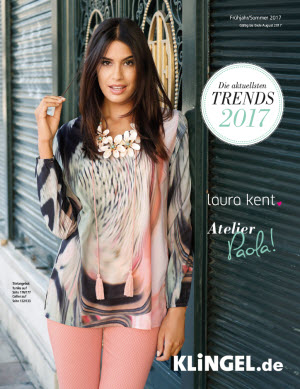 Katalogtitelbild Klingel Katalog mit den Trends 2017