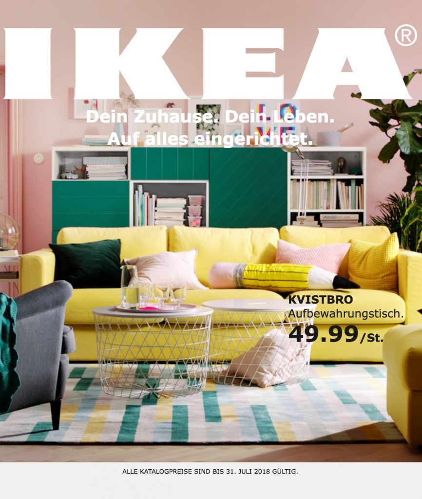 ikea hauptkatalog bestellen ikea kataloge kostenlos anfordern. Black Bedroom Furniture Sets. Home Design Ideas