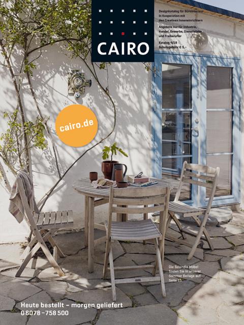 Design möbel katalog kostenlos online bestellen von Cairo