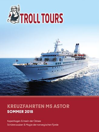 Ostsee Kreuzfahrten Katalog 2018 kostenlos