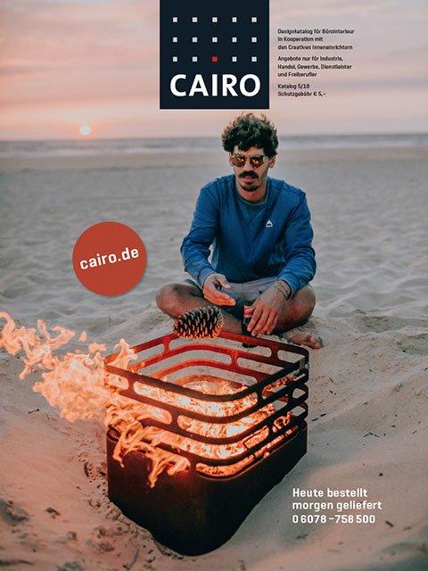 Design Möbel Kataloge kostenlos online bestellen von CAIRO