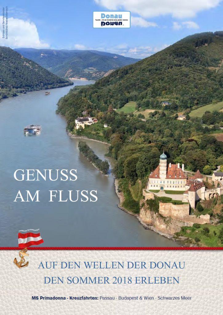 Donau Flusskreuzfahrt Titelbild
