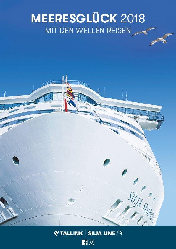 Mini Kreuzfahrten Kataloge Ostsee von Tallink Silja