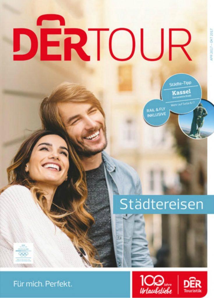 DERTOUR Städtereisen Katalog gratis anfordern