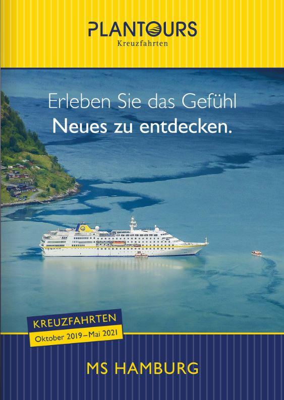 Kreuzfahrten Kataloge kostenlos bestellen MS Hamburg