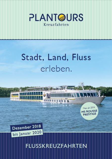 flusskreuzfahrten kataloge kostenlos bestellen 2018 bis 2020 von plantours