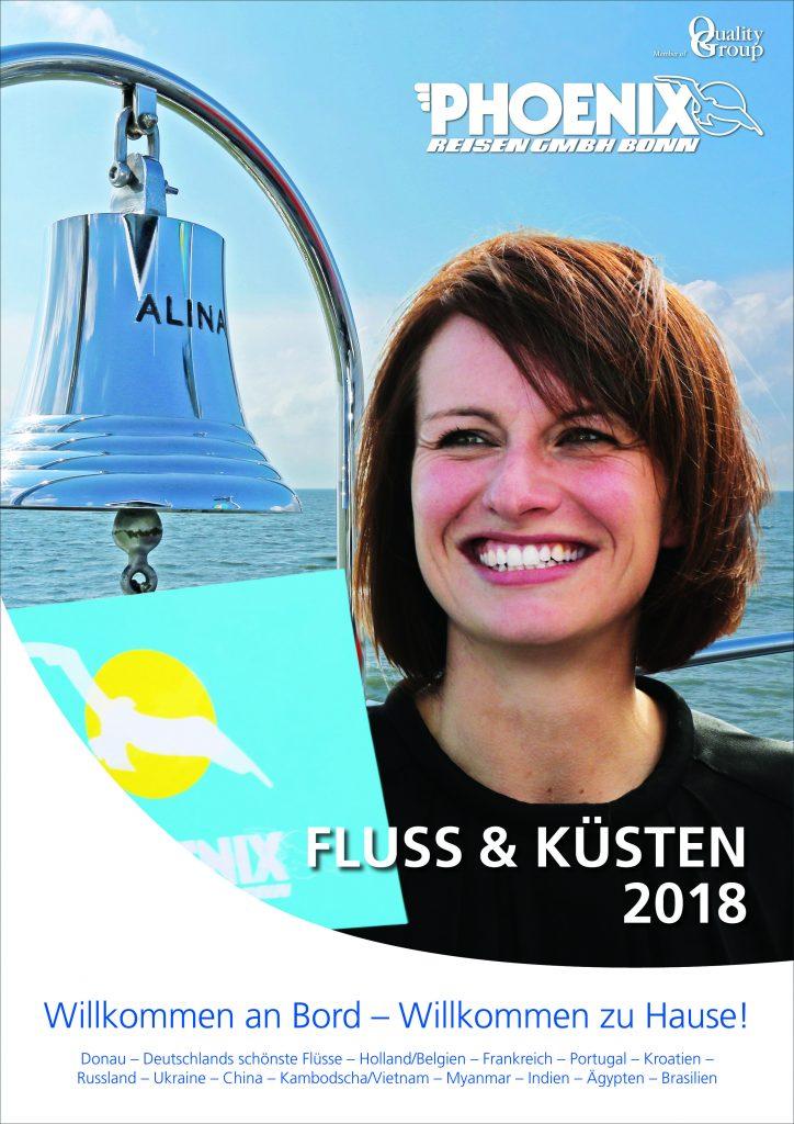 Fluss Kreuzfahrten Katalog bestellen 2018 von Phoenix Reisen