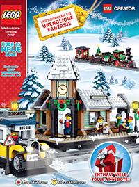 Titel LEGO Weihnachtskatalog 2017