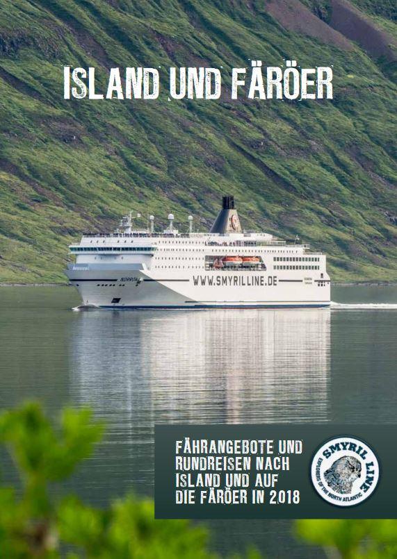 Island Fähren Katalog kostenlos