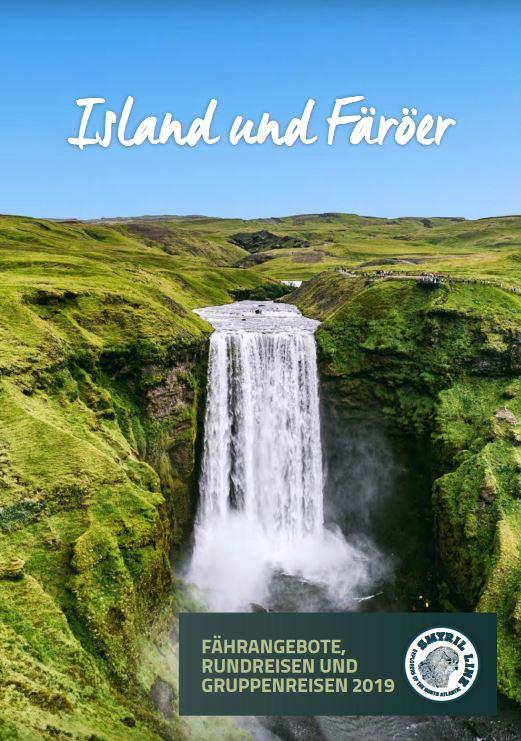 Island Fähren Katalog kostenlos bestellen 2019