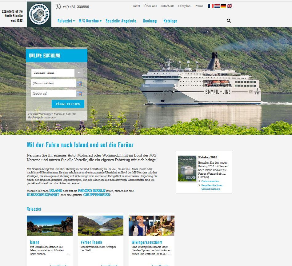 Island f hren katalog kostenlos bestellen von smyril line for Aquarium katalog kostenlos bestellen