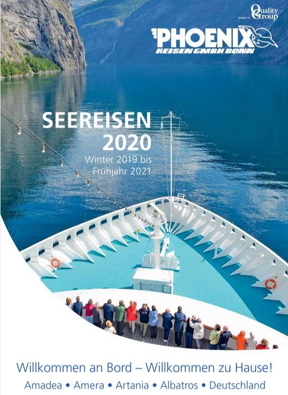 Kreuzfahrten Kataloge 2020 kostenlos bestellen bei kreuzfahrten und urlaubsreisen