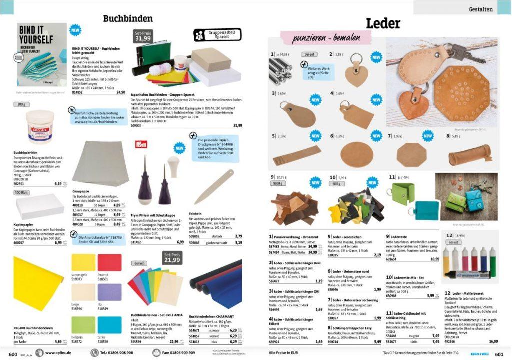 Bastelkataloge Kostenlos Bestellen Von Opitec Ausgabe 20182019