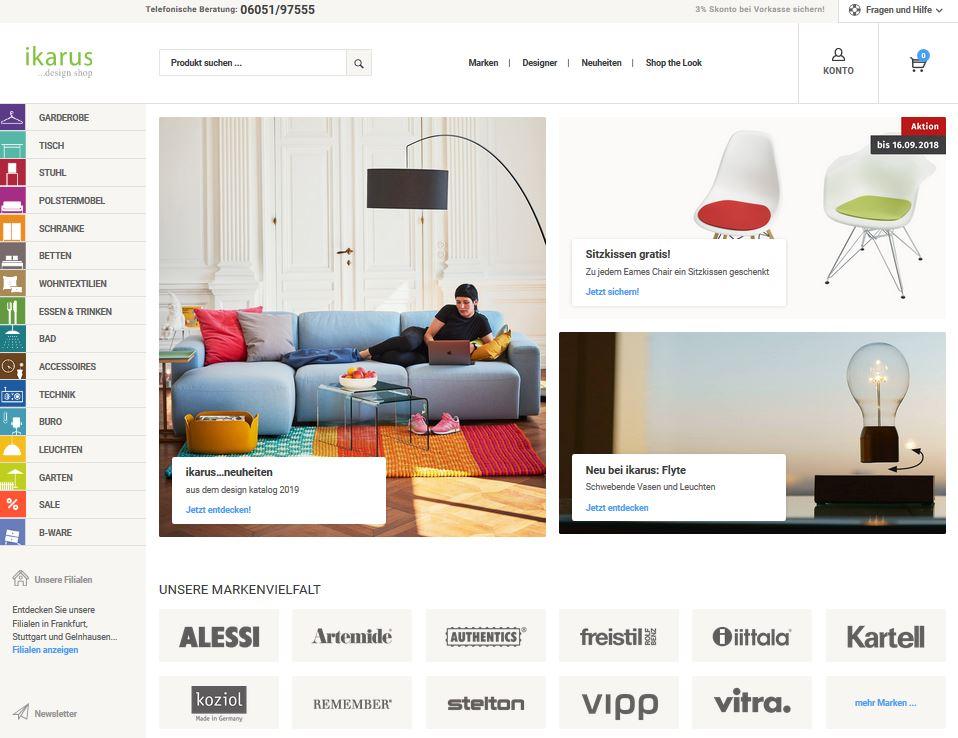 designerm bel katalog kostenlos bestellen von ikarus. Black Bedroom Furniture Sets. Home Design Ideas