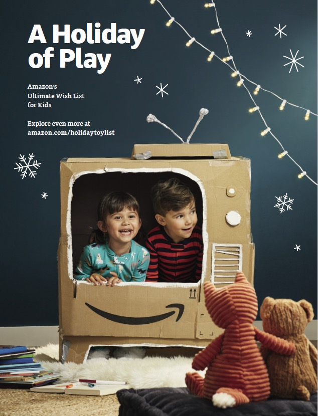 Titelseite des gedruckten amazon Katalogs