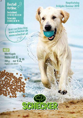 hundebedarf kataloge bestellen bei schecker 2019