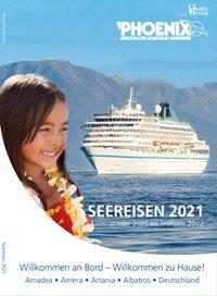 Kreuzfahrten Kataloge kostenlos bestellen 2021