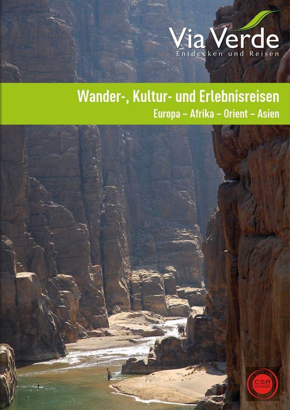Erlebnisreisen Kataloge kostenlos 2019 Europa