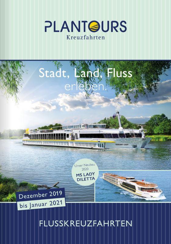 Flusskreuzfahrten Kataloge kostenlos bestellen 2019 - 2020 -2021