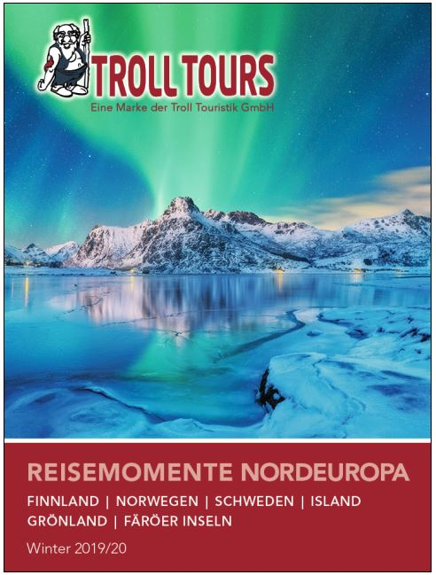 Nordland Winter Reisen Kataloge 2019 2020 kostenlos bestellen