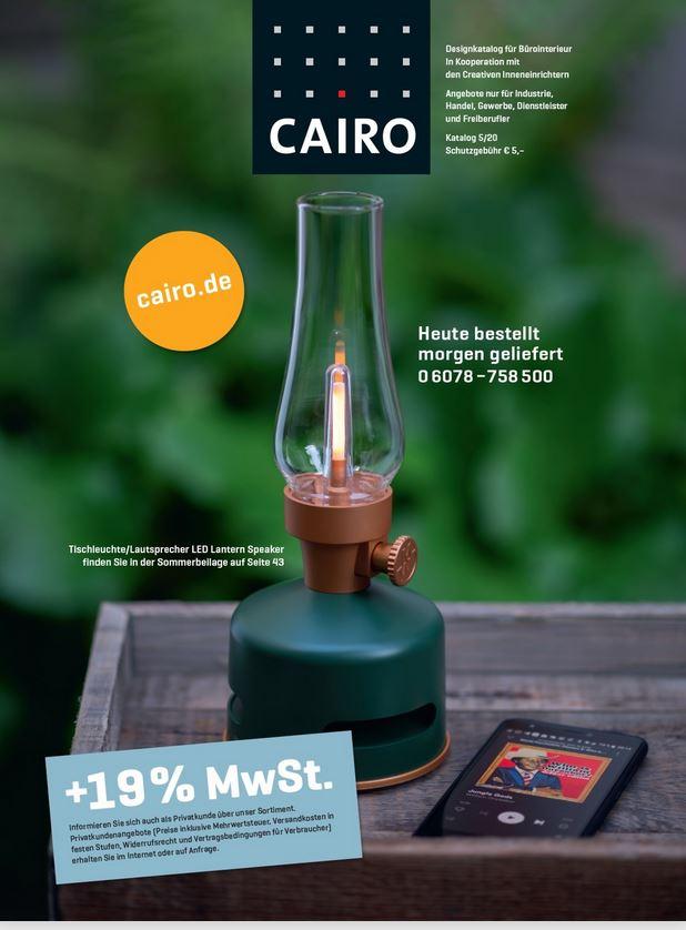 desigr möbel kataloge kostenlos online bestellen von CAIRO