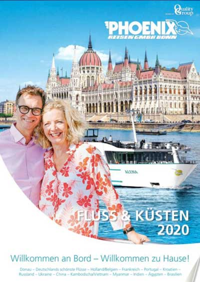 Flusskreuzfahrt Kataloge kostenlos bestellen 2020