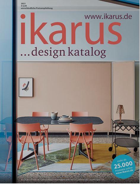 designermöbel katalog kostenlos bestellen von Ikarus 2021