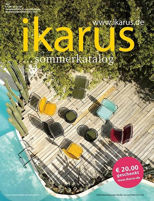 designermöbel katalog kostenlos bestellen von Ikarus