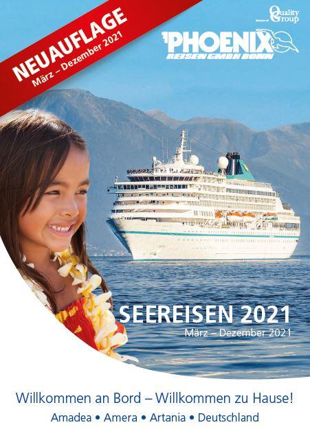 Phoenix Kreuzfahrten Kataloge 20201 kostenlos bestellen