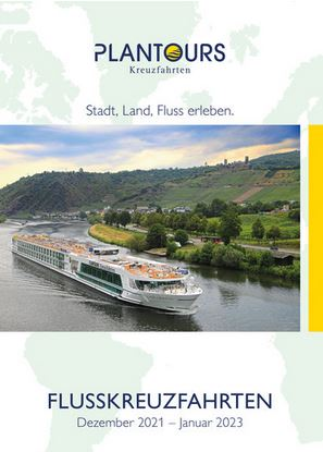 Flusskreuzfahrten Kataloge kostenlos bestellen 2021 - 2022