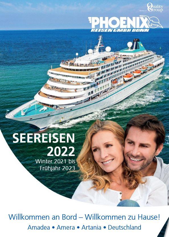schiffsreisen kreuzfahrten kataloge kostenlos 2022